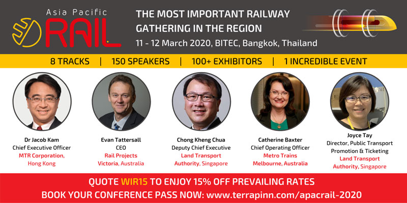 ASIA PACIFIC RAIL CONFERENCE 2020